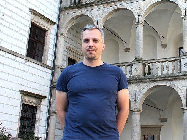 Kastelán jindřichohradeckého zámku Jan Mikeš.