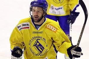 Útočník David Kupec.