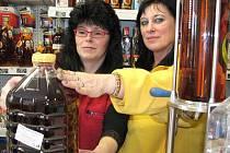 Hana Bognárová na snímku vlevo, s Helenou Tyšerovou