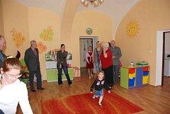 Slavnostní zahájení školky v azylovém domě Rybka ve Studené.