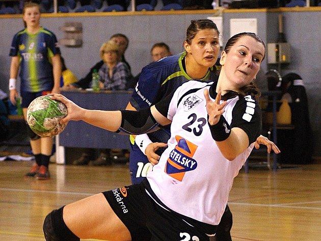 Kateřina Krupicová patří mezi nejlepší střelkyně I. ligy.
