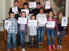 Děti z třeboňské základní školy praktické se úspěšně zúčastnili soutěže Třeboňská růže.