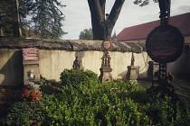 Vandalismus Hroby Jindřichův Hradec