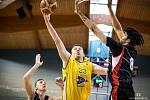 Hráči Fio Basketu sice ve druhém finálovém souboji play off I. ligy doma porazili GBA EU Praha 80:76, ale z titulu se radoval hostující tým.