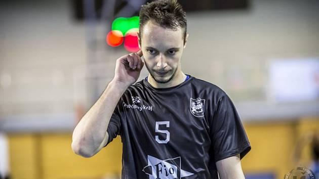 Jiří Šoula byl s 24 body nejlepším střelcem utkání, v němž hradečtí basketbalisté porazili béčko Nymburku 106:73.