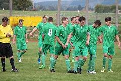 Fotbalisté Nové Bystřice prohráli na domácím trávníku s Lomnicí 0:3.