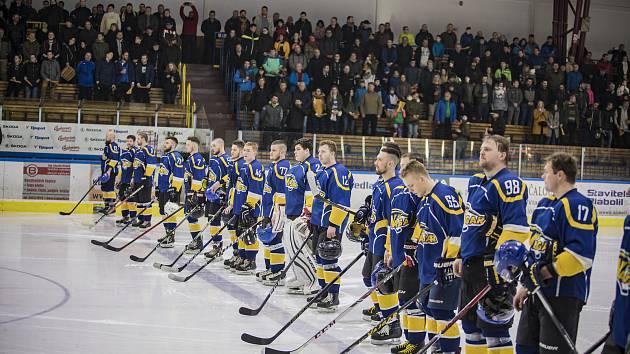 Jindřichohradecké hokejisty čekají dva důležité zápasy o postup do II. ligy.