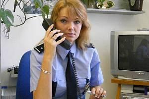 Jindřichohradecká policejní mluvčí Hana Millerová.