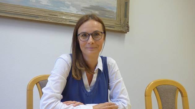 Hlavní sestra jindřichohradecké nemocnice Dana Velimská.