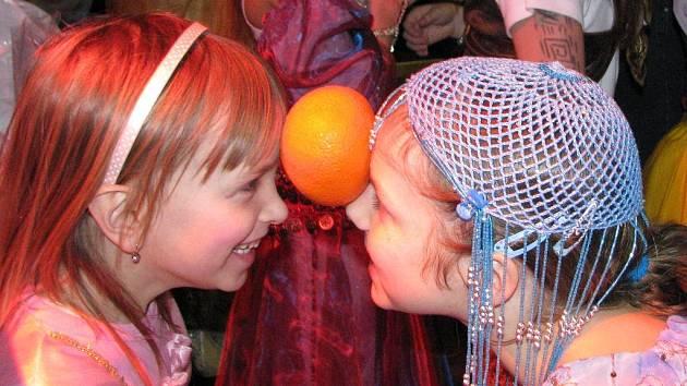 Dětský karneval v Domaníně.