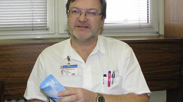 Primář dětského oddělení jindřichohradecké nemocnice Miroslav Toms.