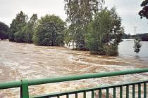 Velká voda. Ilustrační foto.