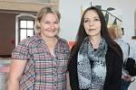 Společná výstava Hany Sommerové a Elišky Hanušové je průřezem prací z posledního roku.