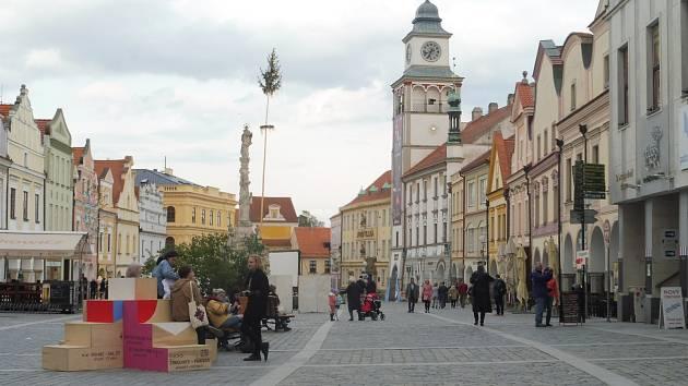 Masarykovo náměstí Třeboň