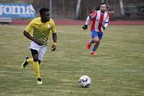 Gabonský fotbalista Obiang Grace se v jindřichohradeckém týmu uvedl výborně a vedení klubu by chtělo, aby v týmu zůstal i v příští sezoně.