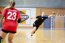 Sabina Jasanská přispěla k vítězství ve Vršovicích šesti góly.
