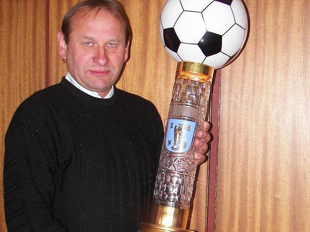 Dlouholetý manažer turnaje Miloš Strachota.