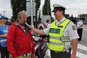 Policisté se při kontrolách zaměřili nejen na řidiče automobilů, ale i motocyklů a cyklisty.