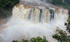 Milena a Josef Andrle navštívili Foz do Iguazu.