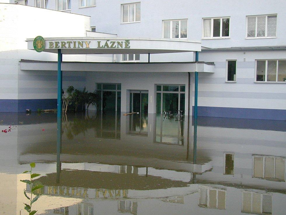 Povodně 2002 - Třeboňsko.