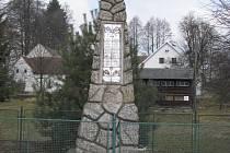 Památník v Jilmu.