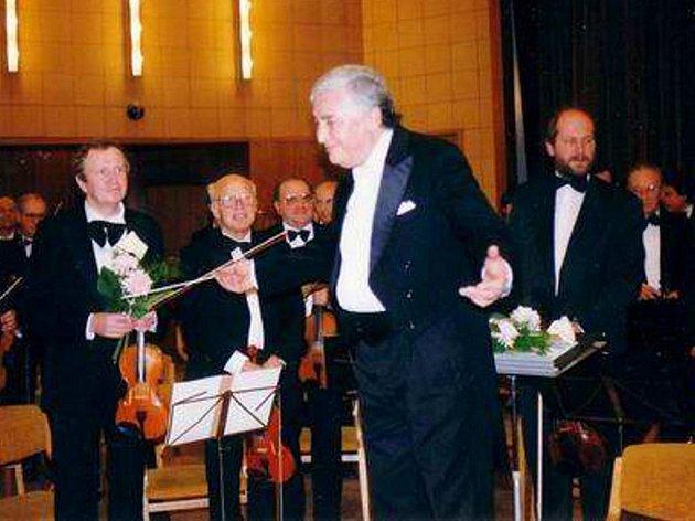 Dirigent Jaroslav Kohout.
