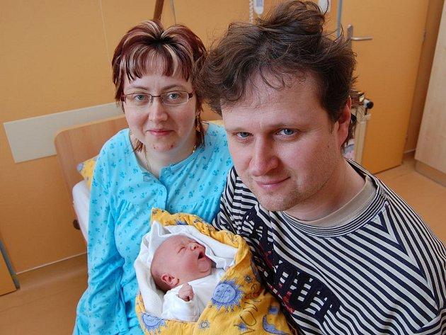 Martina Petrová z Bílkova, 11. března 2009, 3440 gramů, 52 centimetrů
