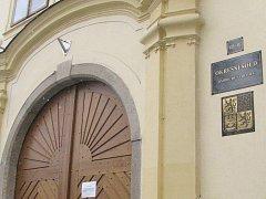 Budova Okresního soudu v Jindřichově Hradci. Ilustrační foto.