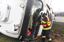 Pondělní nehoda u Dolní Lhoty