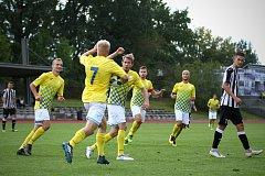 Jindřichohradečtí fotbalisté v divizi podlehli favorizované pražské Admiře 2:3.