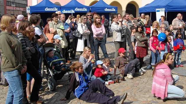 Den s Deníkem v Jindřichově Hradci 24. dubna 2008