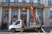 Budova městského úřadu v Hradci. Ilustrační snímek.