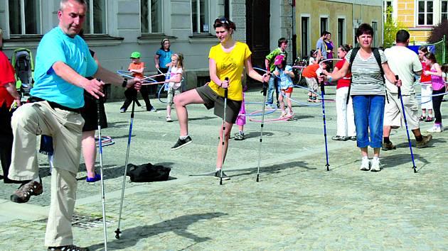 Nordic Walking Tour se pravidelně koná také ve Slavonicích.