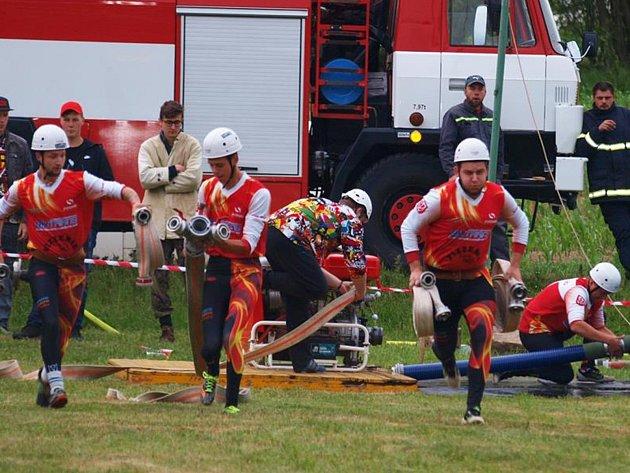 V Horním Poli se konalo třetí kolo Jindřichohradecké hasičské ligy.