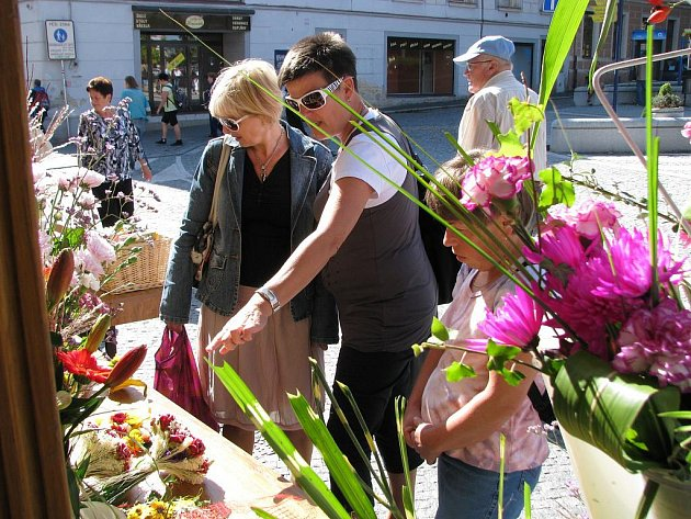 Květinové odpoledne na Střelnici.