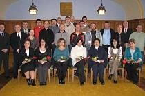 ZLATÁ MEDAILE. Za nejméně 40 odběrů krve byli oceněni zlatou medailí profesora Jana Janského tito dárci: Jaroslav Čuta z Novosedel nad Nežárkou.