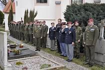 Generál Josef Eret je pohřben v malé obci jménem Dýšina, která leží nedaleko Plzně.