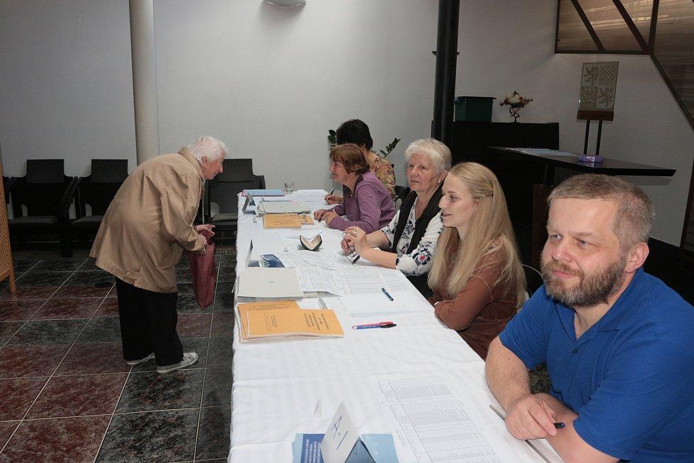 Eurovolby v Kunžaku.
