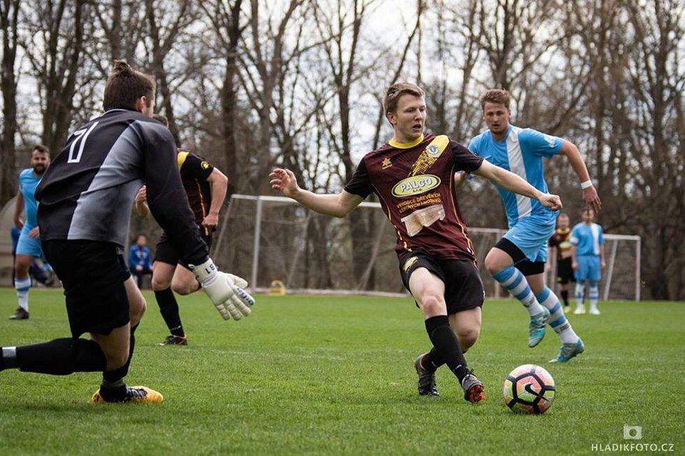 Fotbalisté Nové Včelnice v 16. kole I. A třídy doma remizovali s Lišovem 1:1.