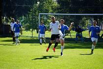 Fotbalisté Nové Bystřice připravili nováčkovi I. B třídy druhou porážku v soutěži, když na jeho hřišti zvítězili 3:1.