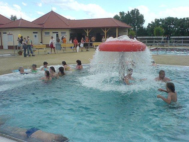 Dačický aquapark jede na plné obrátky.
