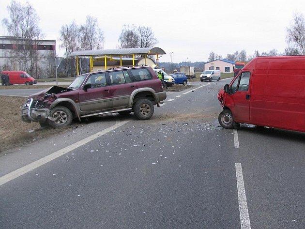 Nehoda u Jarošova nad Nežárkou