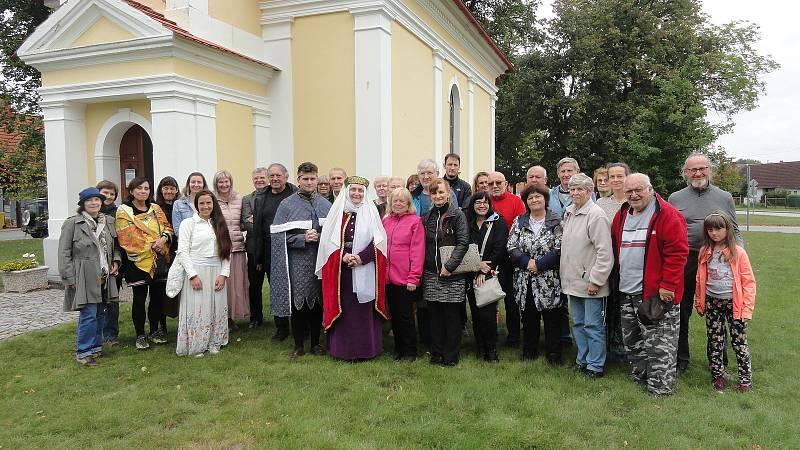 Miloš Dědič navštívil víkendové Oslavy sv. Ludmily v Lunžici u Třeboně