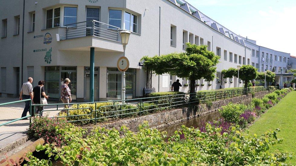 Otevření Bertiných lázní v Třeboni