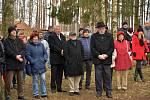 V Suchdole nad Lužnicí odhalili památník připomínající židovské oběti války.