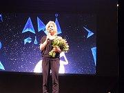 V Třeboni začal mezinárodní festival animovaných filmů Anifilm. Na snímku starostka Třeboně Terezie Jenisová.
