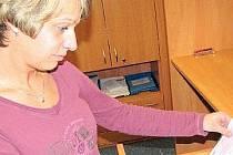 EVIDENCE. Na snímku je pracovnice jindřichohradeckého odboru dopravy z oddělení evidence řidičů Dagmar Vlková, která má mimo jiné na starost i výměnu řidičských průkazů.