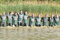 Nostalgická vzpomínka na postup do I. A třídy. Fotbalisté Novosedel budou hrát v příští sezoně v okresním přeboru.