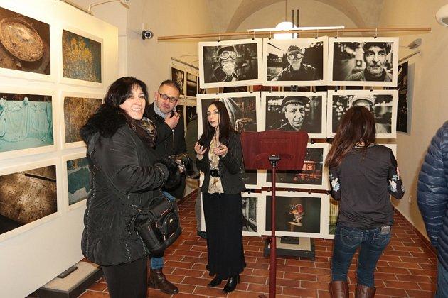 Výstavu s názvem Industria lze až do 18. března zhlédnout v hradeckém muzeu fotografie.