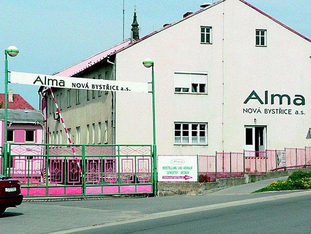 Bývalá Alma Nová Bystřice. Ilustrační foto.